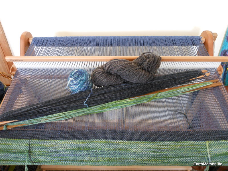 Spinning and Weaving Saori Style
