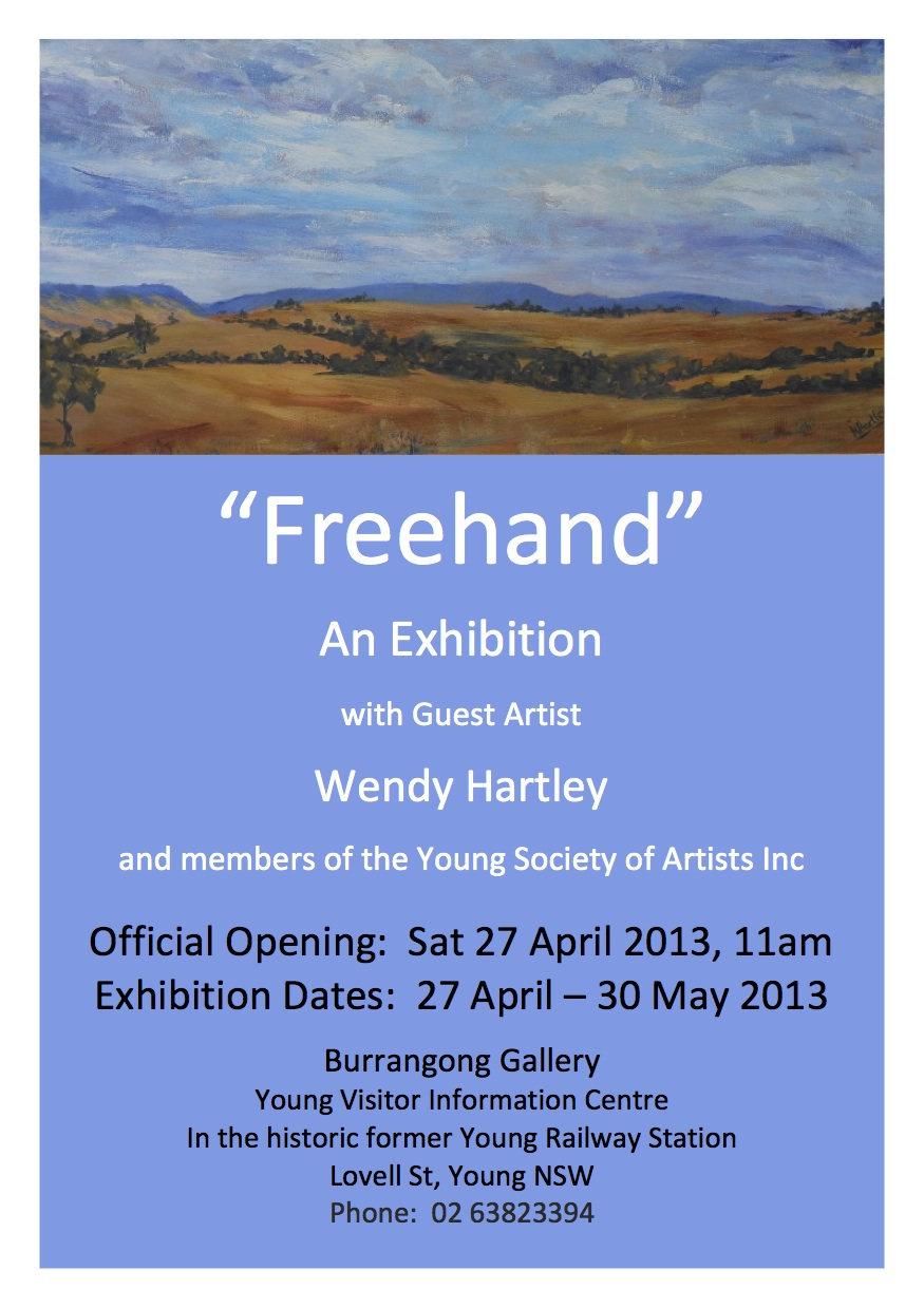 Invitation Freehand Exhibition 2013 3