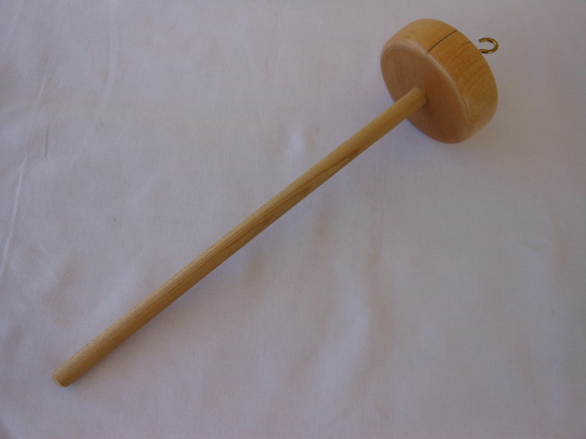 Top Whorl Maple Spindle