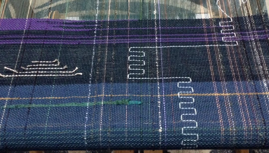 How to Weave Travelling Inlay