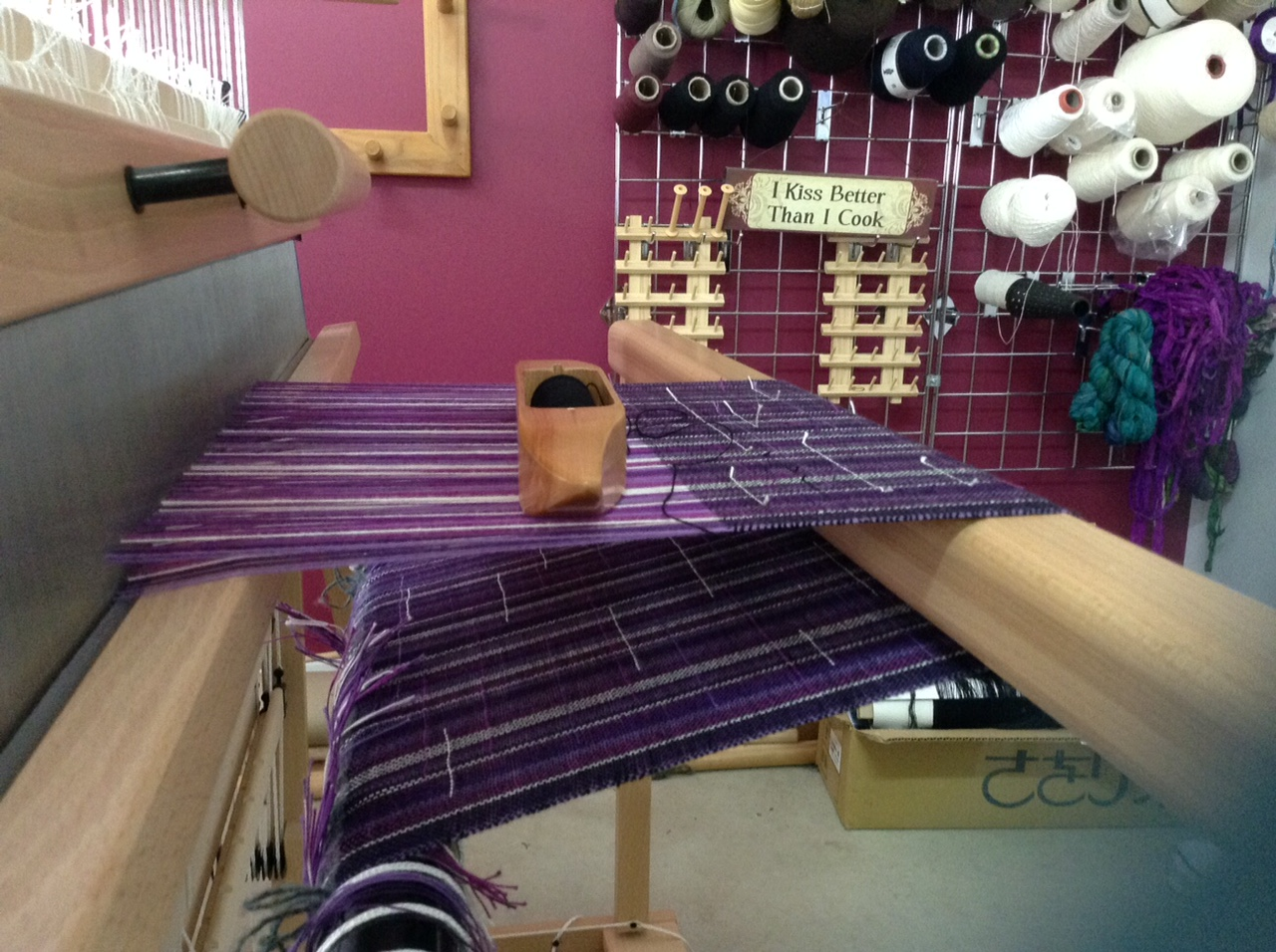 EarthMother Designs Purple-y Warp